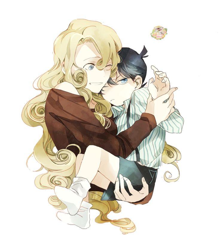 Conan And Yukiko By MizuMiKID