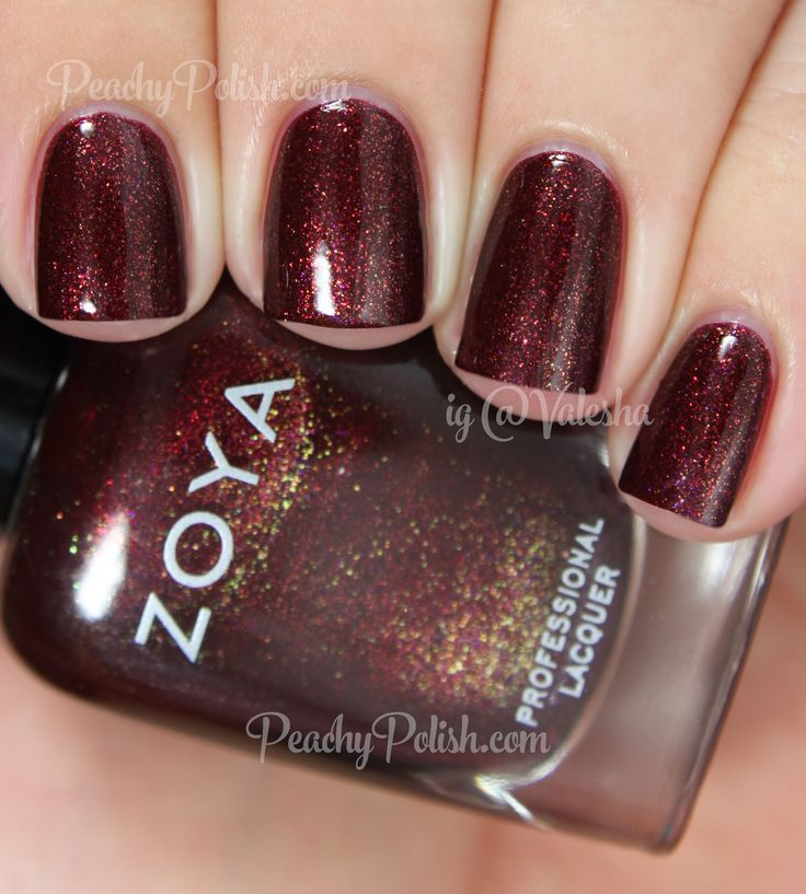 Zoya India | Fall 2014 Ignite Collection | Peachy Polish