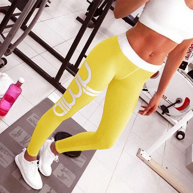 2017 плюс Размеры Push Up Фитнес спортивные Легинсы готический печати Высокая талия эластичные женские Sportwear тренировки Leggings для женщин купить на AliExpress