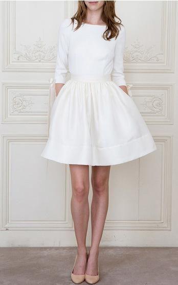 Delphine Manivet Bridal Spring Summer 2016 Look 12 on Moda Operandi