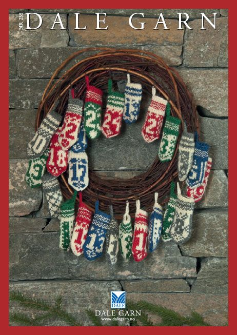#DaleGarn Free Download Patterns DG235_JUL Knits for Christmas