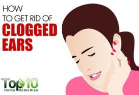 how to get rid of fluid in ears naturally