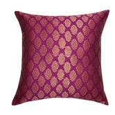 Found it at Wayfair - Shelly Brocade Cotton Pillow