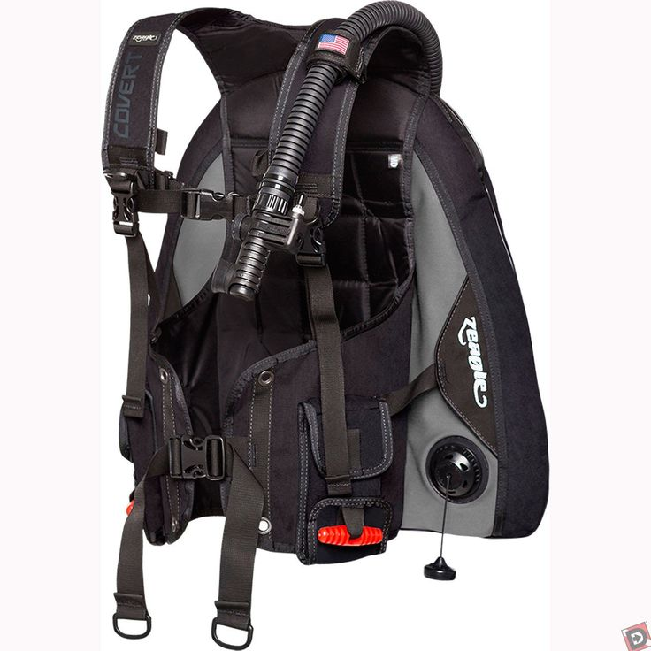 Don't let the airlines get between you and a great dive, the Zeagle Covert Scuba BCD is designed to weigh as little as possible while still giving you the performance and durability to enjoy dive after dive.