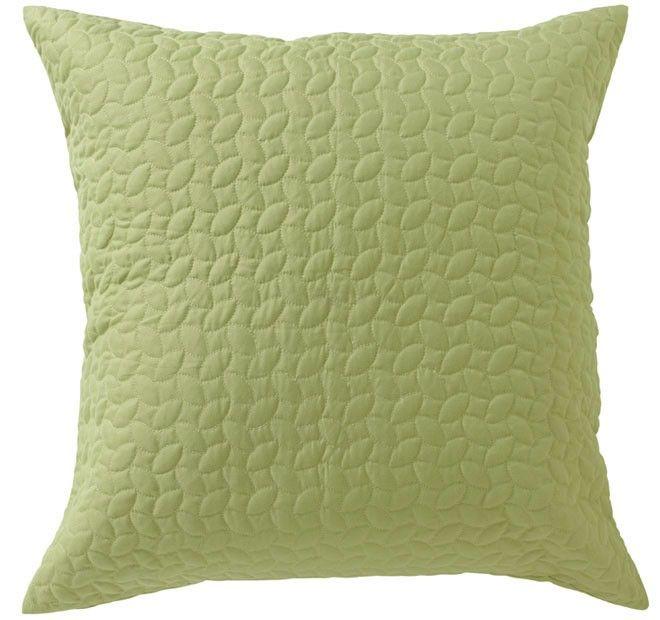 Vivid Coordinates European Pillowcase Herbal Green - Shop