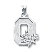 Sterling Silver Ohio State University Charm