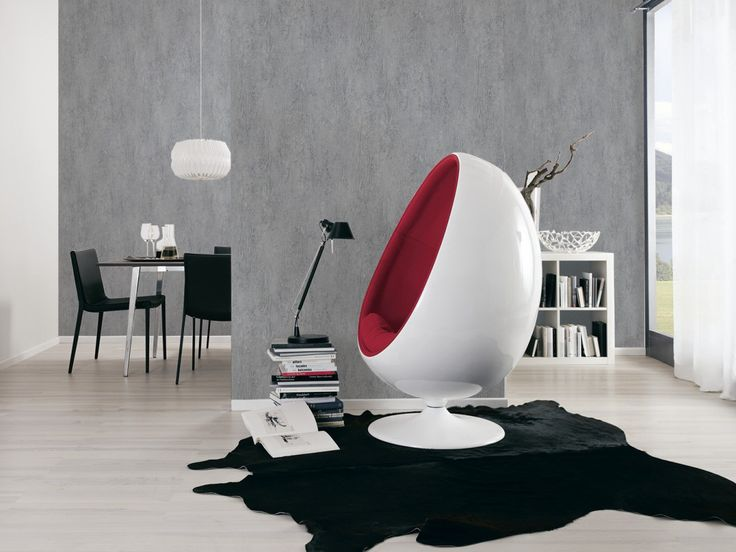 Daniel Hechter Tapete Design strukturiert grau 30669-6