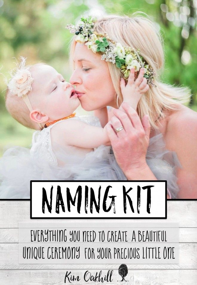 This beautiful Naming Ceremony Kit has been created by popular, young, modern celebrant, Kim Oakhill. A Naming ceremony is a non-legal ceremony where we celebrate the life of the child and the hopes, dreams and wishes that we have for them as an individual...