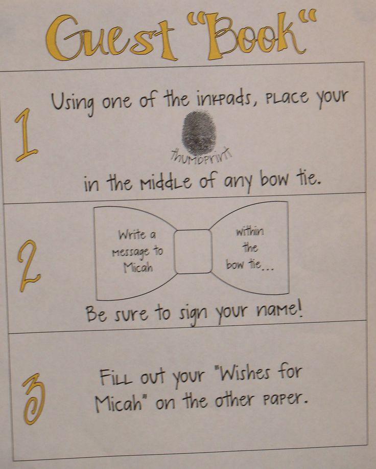 fingerprint guest book instructions