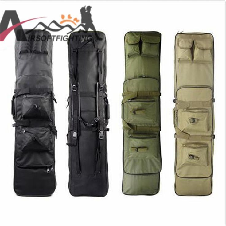 [Visit to Buy] 120CM Tactical Rifle Cases Gun Bags with Shoulder Strap Tactical Hunting 120cm Rifle Backpack Rainproof #Advertisement