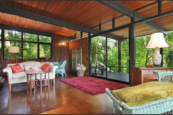 79 best images about post beam on pinterest vacation for Mid century post and beam house plans
