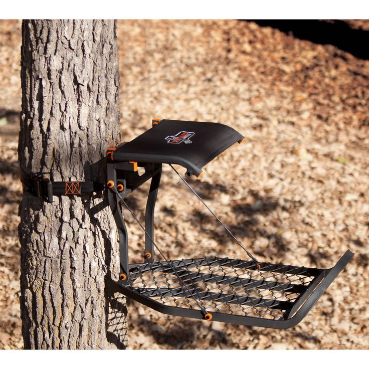 Hang On Treestand Climber Deer Hunting Tree Stands Climbing Seat Steel 300lb NEW #hunting #huntingseason #trea+stand #hangon #tree #stand #hunting+gear #sport #gear #outdoors #deerhunting #deerseason #deerhunter