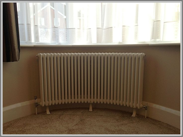 Traditional Column Design Radiators Curved for Bay Window Wall