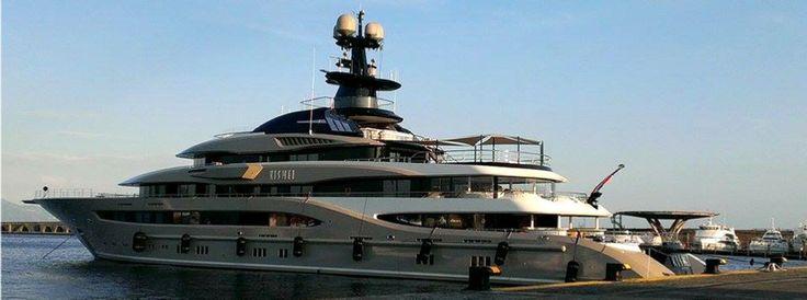 [Shahid Khan] and his Crazy US$ 200 Million Luxury Yacht Kismet