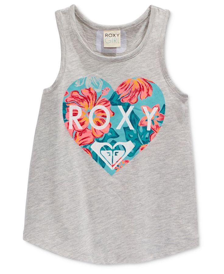 Roxy Girls' Heart Tank