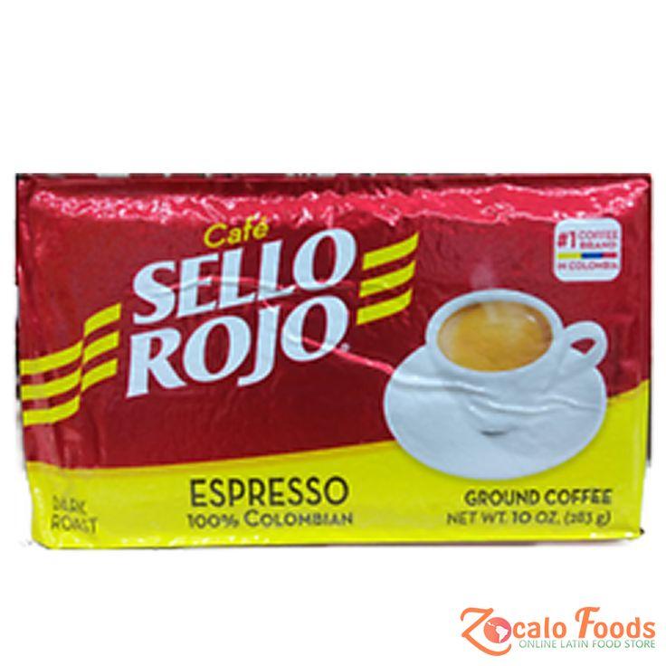 Cafe Sello Rojo Espresso 10 oz