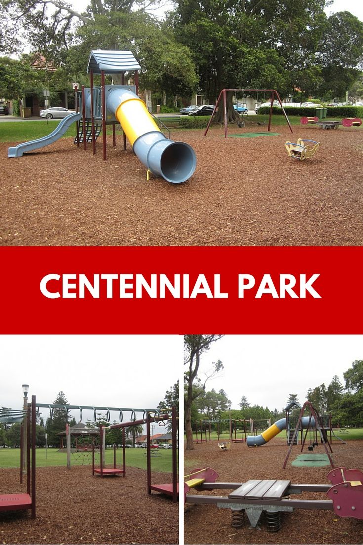 Centennial Park in the middle of Cooks Hill is a great spot for a picnic and play.