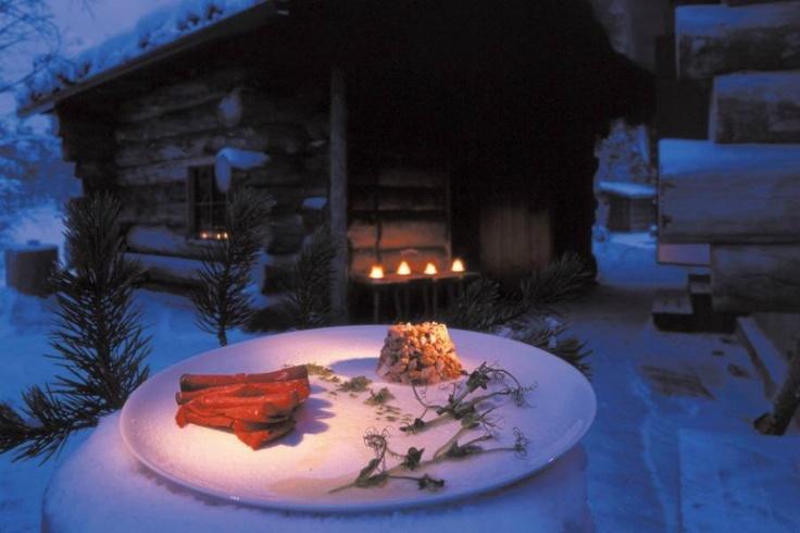 Hotel Kakslauttanen 20  En de dag afsluiten met een heerlijk romantische avond