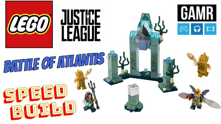 Check out this Justice League Battle Of Atlantis LEGO Speed build video! http://www.gamronline.com/2017/08/watch-lego-dc-justice-league-76085.html #LEGO #SpeedBuild #BattleOfAtlantis #Aquaman #JusticeLeague