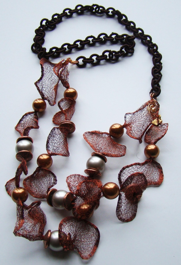 42 best mesh images on Pinterest Diy jewelry Lace jewelry and