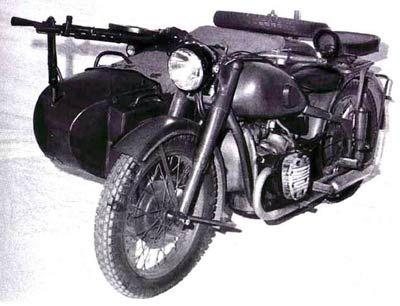 Travel and history: Мотоциклы Второй мировой войны (фото)