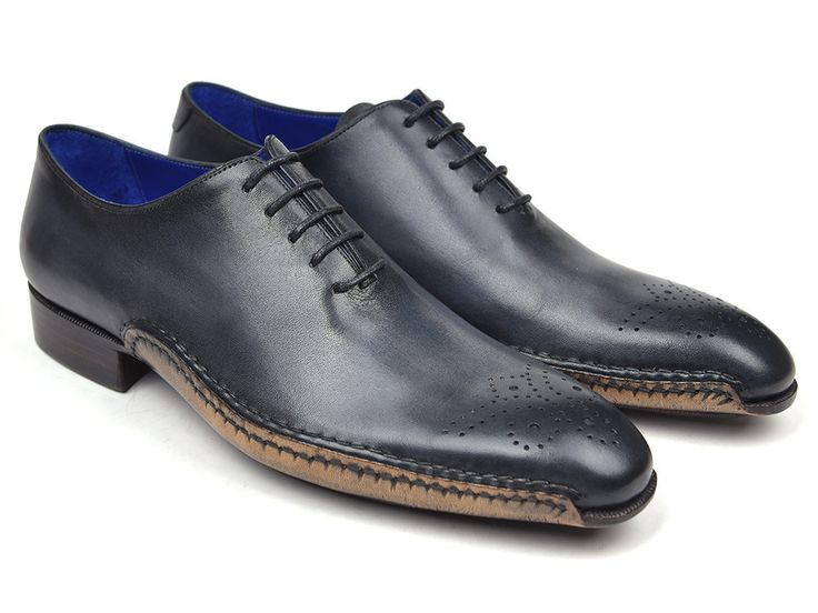 Mens Oxford Shoes Opanka Grey - PRO Quality