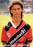 Eintracht Frankfurt - Rolf Falkenmaier deutscher Nationalspieler