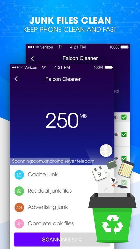 Cleaner Master - Battery Saver FULL APK Free Download :  I. Introduction Falcon Cleaner:  Falcon Cleaner is one of the most respected Cleaner of all time. Falcon Cleaner can clean ...