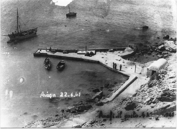 Anafi, λιμάνι