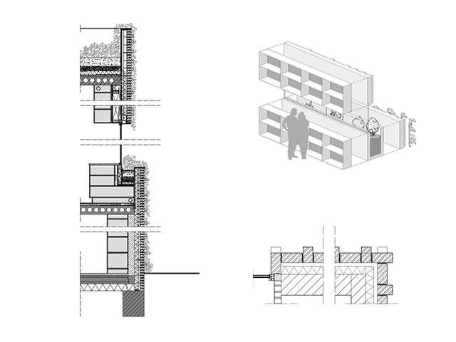 Дом в IJburg (House IJburg) в пригороде Амстердама от Marc Koehler architects. Этот компактный дом построен в пригороде Амстердама, в новом районе у озера IJ. Кирпичный фасад выполнен в стиле амстердамской школы 20-х годов прошлого века, для чего была проведена большая исследовательская работа с привлечением специалистов и консультантов. Дом имеет чёткое зонирование на общую и частную зоны: первый этаж полностью отдан под спальную зону, на втором расположены кухня и гостиная, открывающиеся…