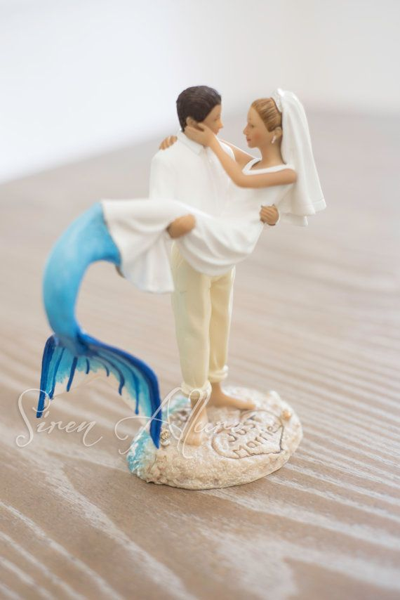 sailor and mermaid wedding cake topper 589 best mermaids other underwater dwellers and such 19618