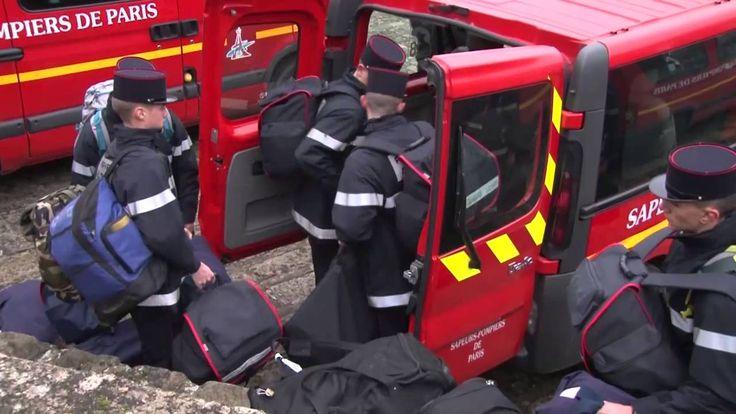 Clip recrutement brigade de sapeurs pompiers de Paris (BSPP) 2015