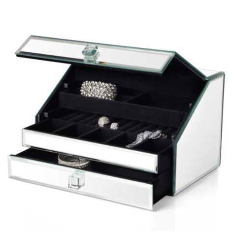 Mirrored Jewelry Box from Z Gallerie