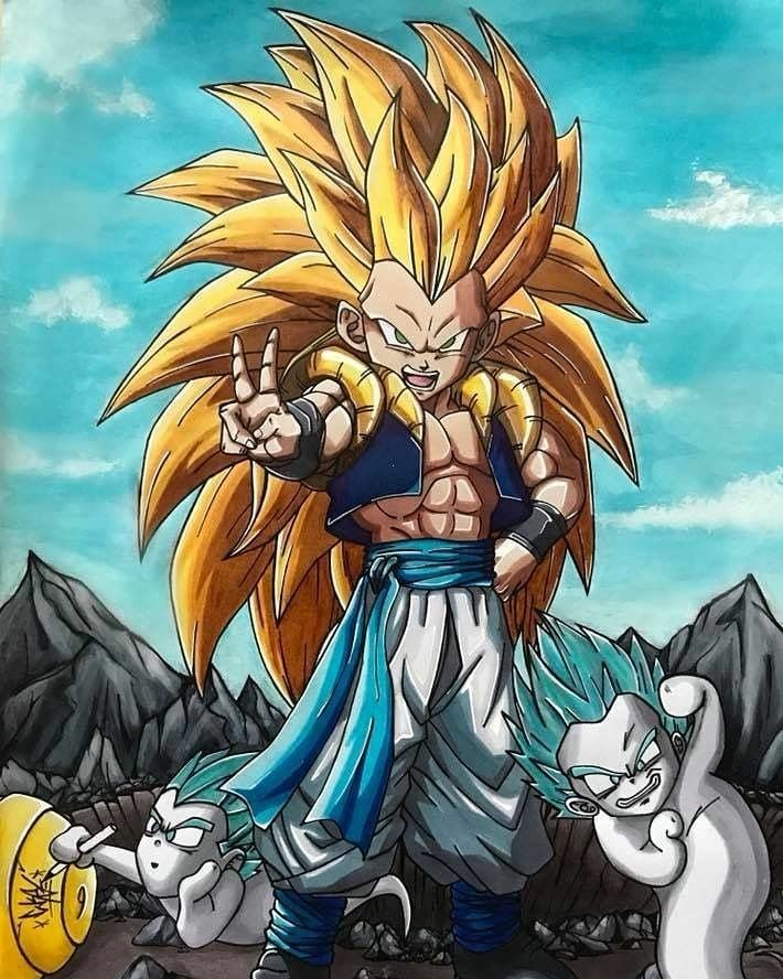 Gotenks Ssj3 Gohan Trunks Dbs Songoku Gokublack Dragonballz Dragonballsuper Dragonball Dbz Anime Dragon Ball Super Dragon Ball Super Goku Dragon Ball