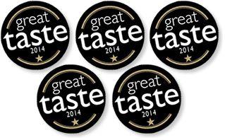 Five gold stars at the Great Taste Awards 2014 www.breaddujour.co.uk