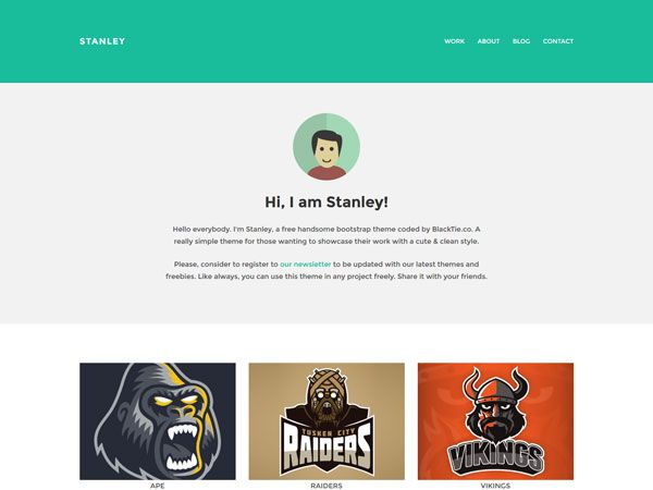 23 best Free Personal vCard \ Resume HTML Templates images on - free resume html template
