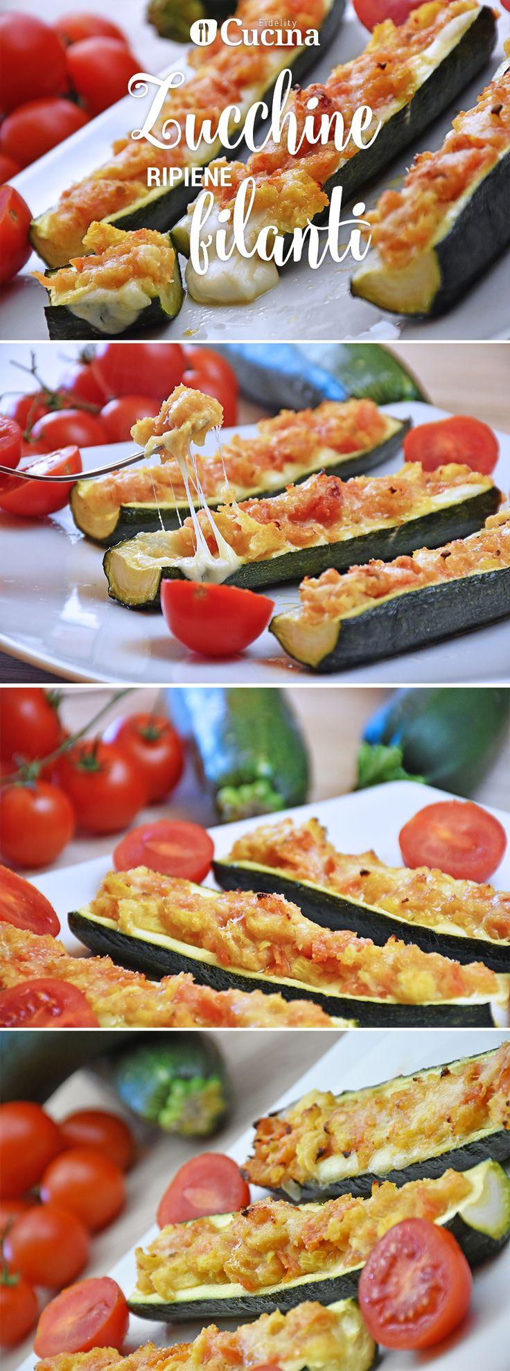 Le #zucchine ripiene filanti sono un secondo piatto a base di #verdure dall'anima filante che farà impazzire tutti. Ecco la #videoricetta
