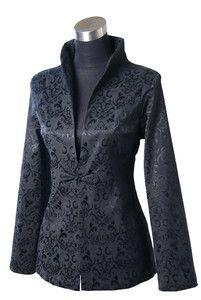 evening jackets for women | ... green Chinese silk Women's evening Jacket/Coat SZ:8-10-12-14-16 | eBay