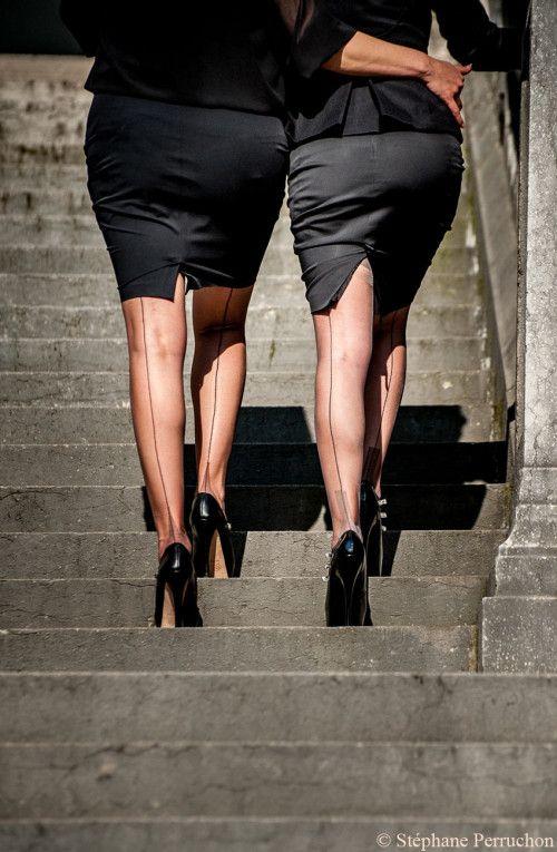 Duo Fminin Pour Un Match Couture Cervin Paris B N