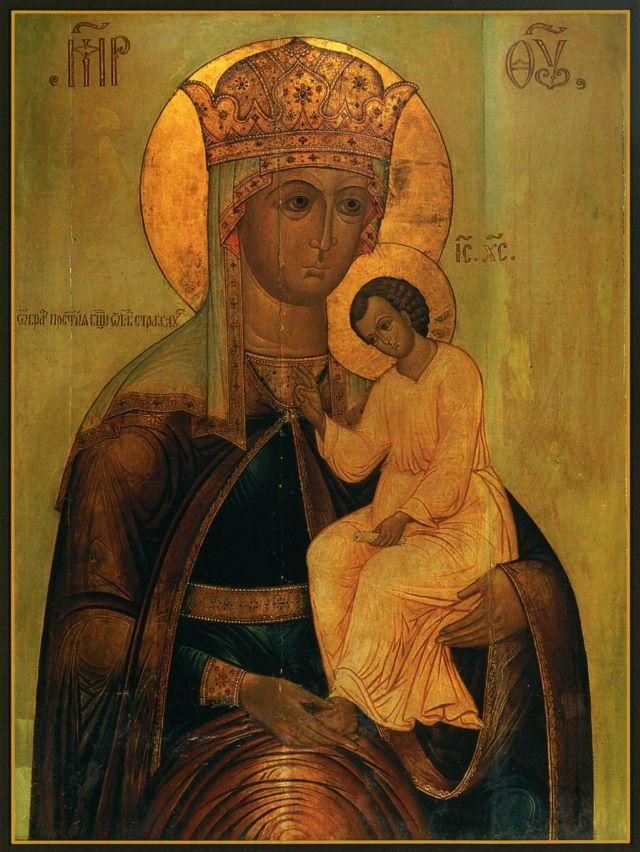 Икона Божией Матери «Избавление от бед страждущих» - очень древняя и редкая икона. Празднуется 5/18 февраля.