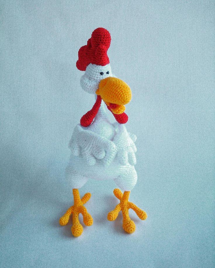 zsutta: Káááároly Crochet chicken