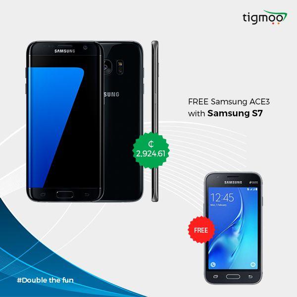 Samsung ACE3 FREE with Samsung S7  https://www.tigmoo.com.gh/samsung-galaxy-s7-2302.html