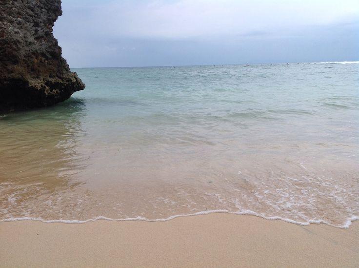 Padang-Padang Beach.