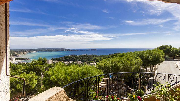 Mallorca, Paguera : besonders bei Deutschen beliebt! Apartments mit Meerblick