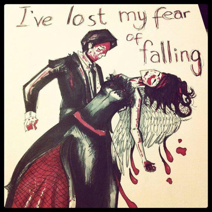 I will be with you...I will be with you :') It's Not A Fashion Statement it's A Deathwish