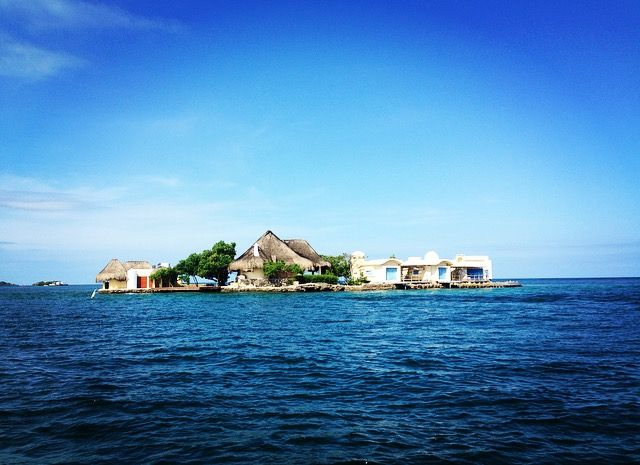 A small island in Islas del Rosario. I'll buy this island some day