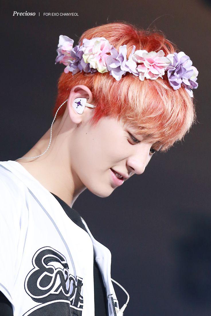160729 #Chanyeol #EXO #EXOrDIUMinSeoul / omfg he has a whitebeard earpiece