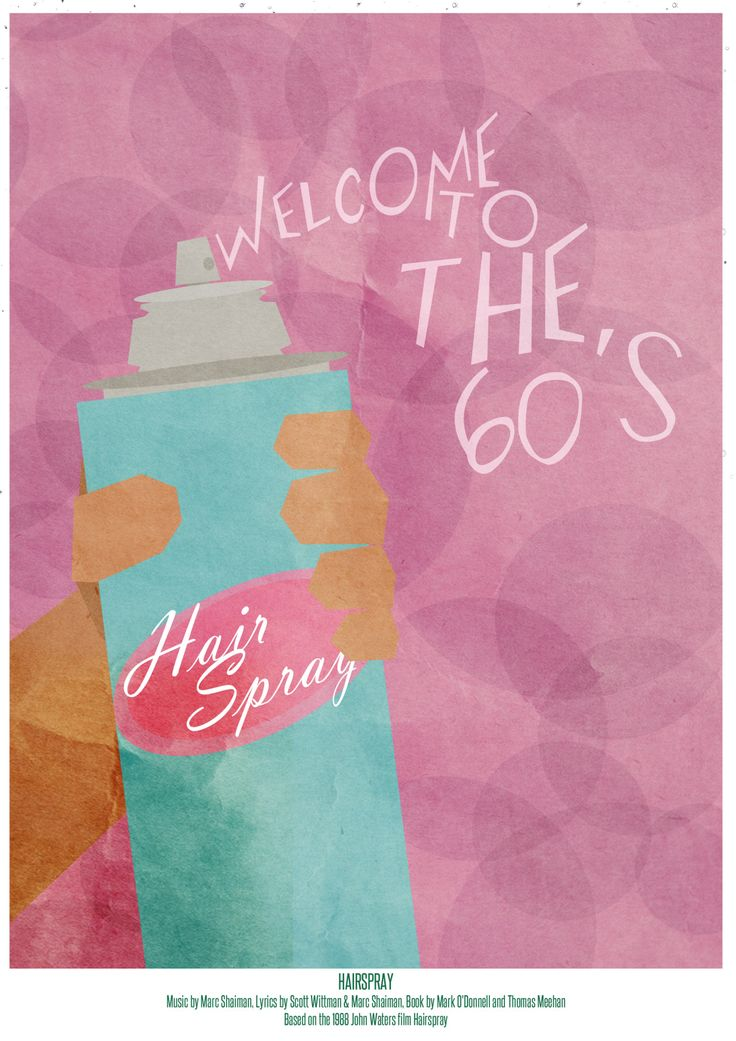 HAIRSPRAY #minimalmusicals OWN THIS PRINT AS PART OF THE MINIMAL MUSICALS BOOK! Help us to create out first poster book, by donating on Kickstarter now! You could own a collection of Minimal Musicals...