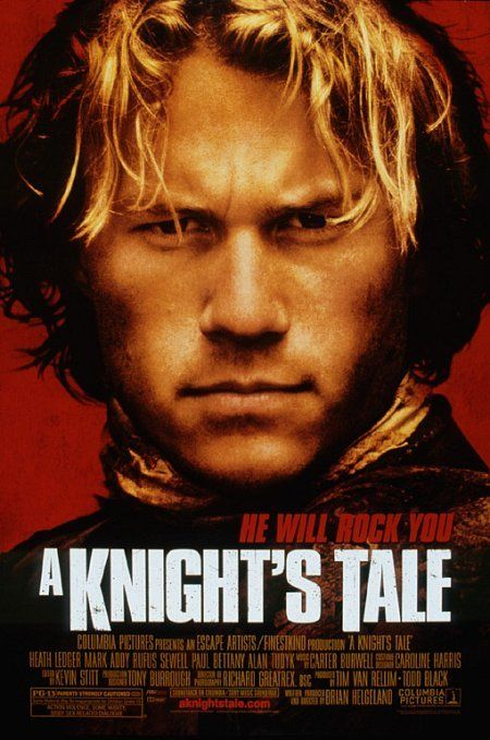 """A Knight's Tale (2001) - After his master dies, a peasant squire fuelled by his desire for glory creates a new identity for himself as a knight. Highly recommended related material for """"Exploring Transitions"""". Available from the library in mp4 format."""