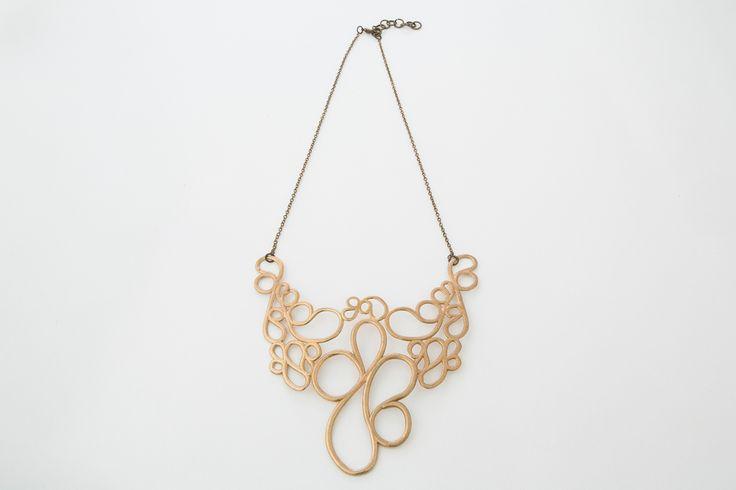 Necklaces - Paolin - Spring-Summer 2015, 3D printed jewellery ph: Roberta De Min  all rights reserved, ph©Roberta De Min 2014